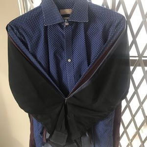 Four Male Dress Shirts